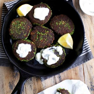 Broccoli Cheddar Fritters