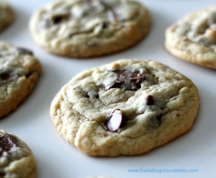 'Symphony' Almond Toffee Milk Chocolate Chip Cookies