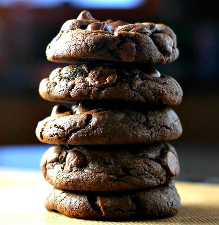 'Thick 'n Fudgy' Chocolate Explosion Cookies