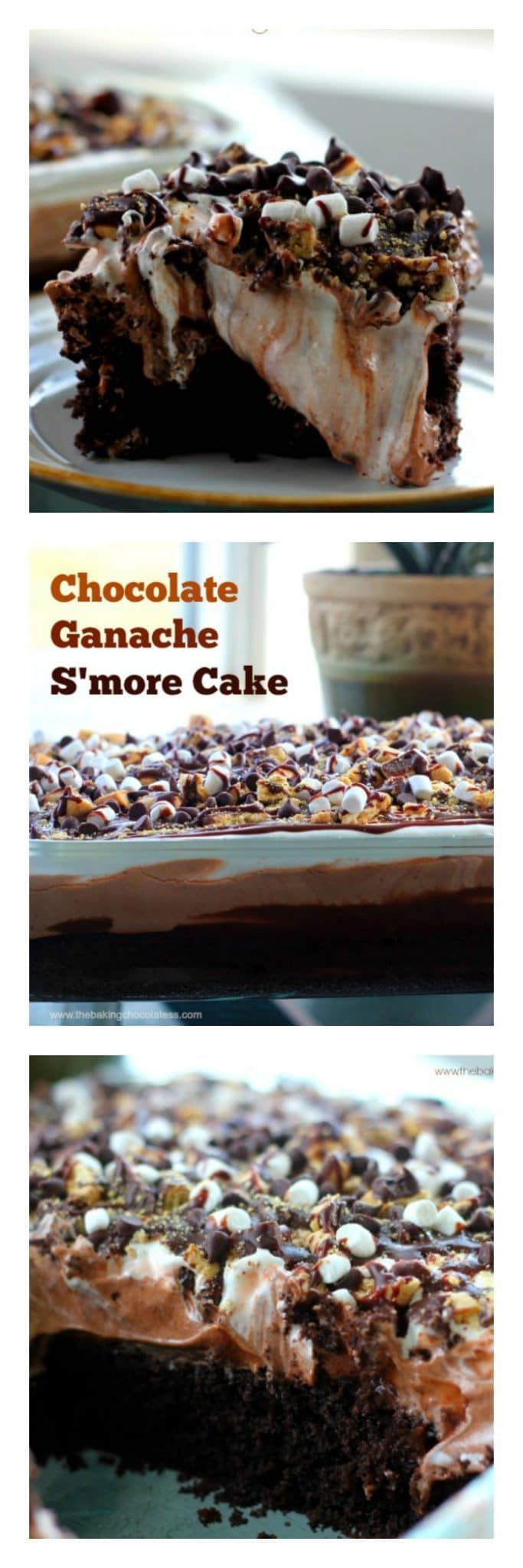 Chocolate Ganache S'More Cake {It's What Sweet Dreams are Made of}