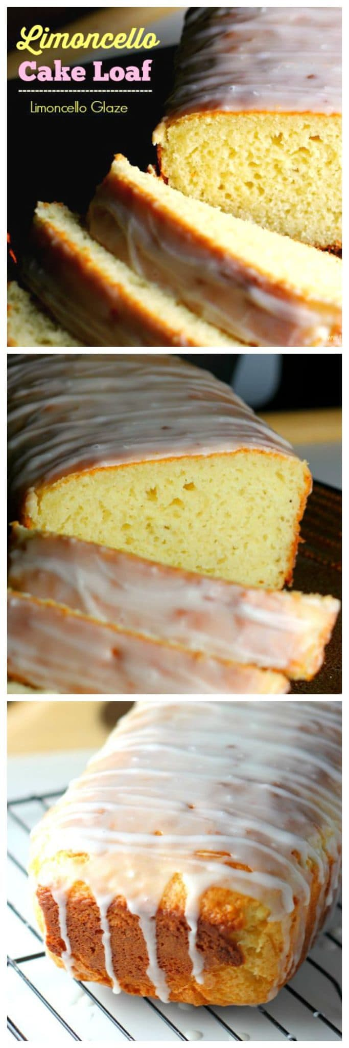 Lemon Limoncello Cake Loaf