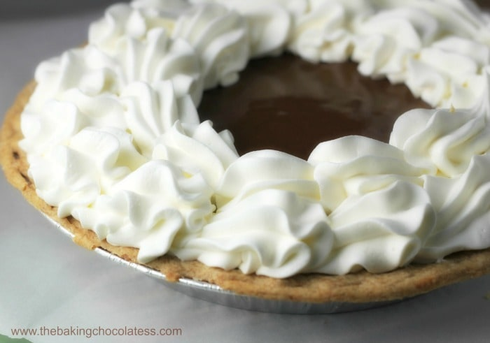 Dark Chocolate Silk Pie! It's Delectable!