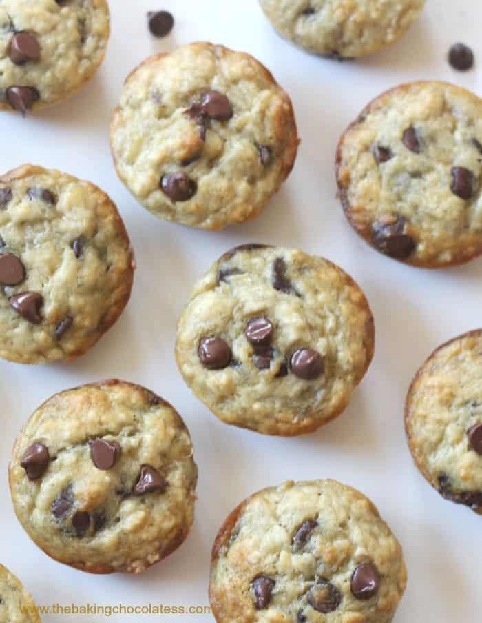 Chocolate Chip Muffins Recipe Simple Appetitlich Foto