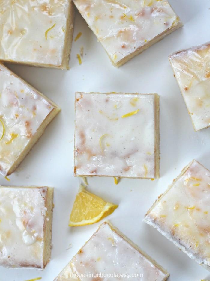 Mimi's Kick-Ass Lemon Cream Cheese Blondies