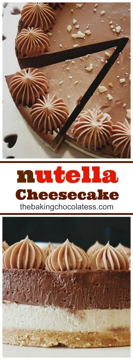 Easy No-Bake Nutella Cheesecake - If you want a delicious treat, you and your family will love, then try the original Nutella cheesecake, which is a no-bake recipe that doesn't require the most expert of baking skills. Easy to make and with the creamy, chocolatey consistency and flavor, your loved ones will surely come back for more!