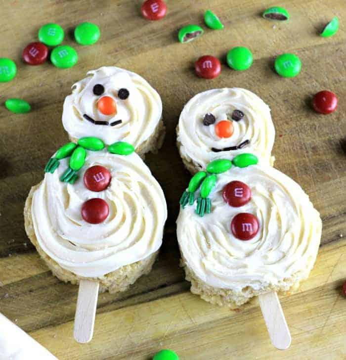 Pillsbury™ Frosted Snowmen on a Stick