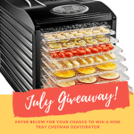 July's Summer Backyard BBQ Recipe Round-Up & Giveaway!