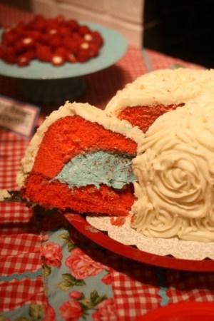rosecake inside