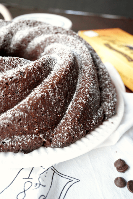 chocolate mascarpone bundt cake | The Baking Fairy