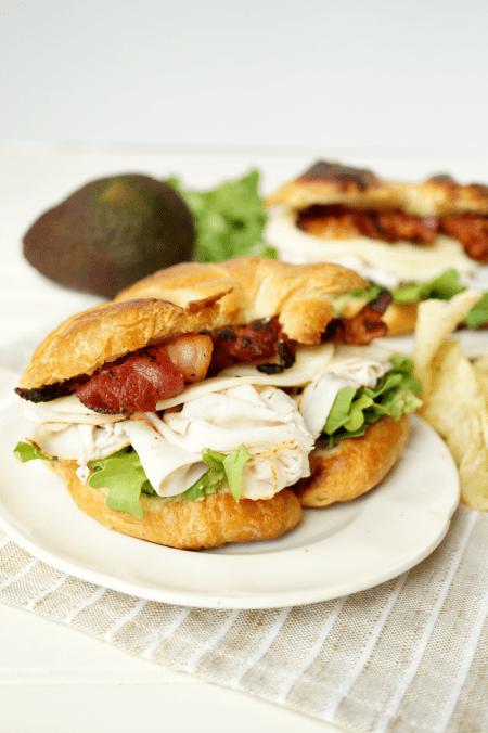 california club sandwich   The Baking Fairy