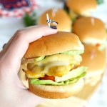 grilled honey mustard chicken sliders | The Baking Fairy