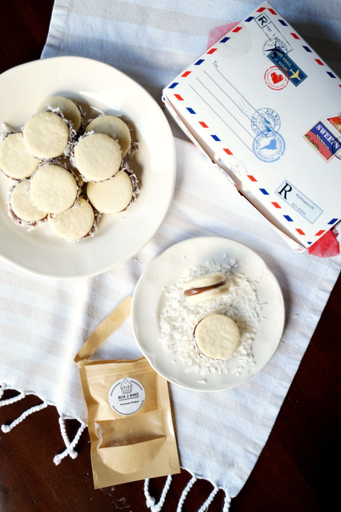 brazilian alfajores {Box 2 Bake review}