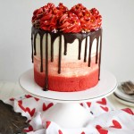 Vegan Red Velvet Chocolate Chip Layer Cake The Baking Fairy