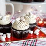 Vegan Hot Cocoa Cupcakes The Baking Fairy