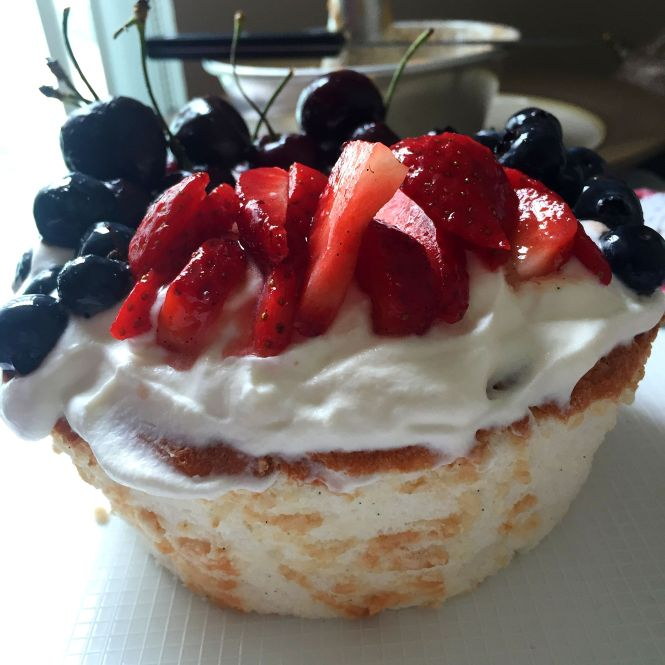 Angel Food Cake 8