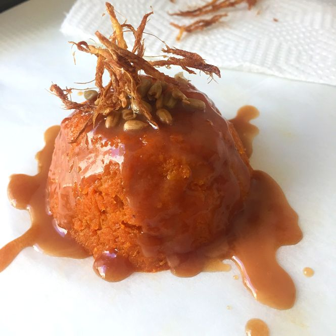 Gajar Halwa with Caramel sauce3