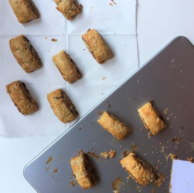 Apple Butter Pie Dough Roll up Cookies