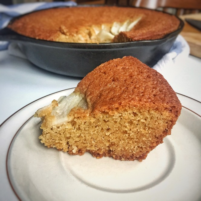 Brown Butter Skillet Coffee Cake