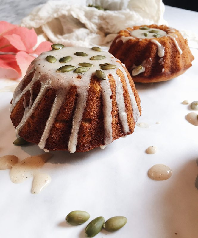 Pumpkin Maple Mini Cakes