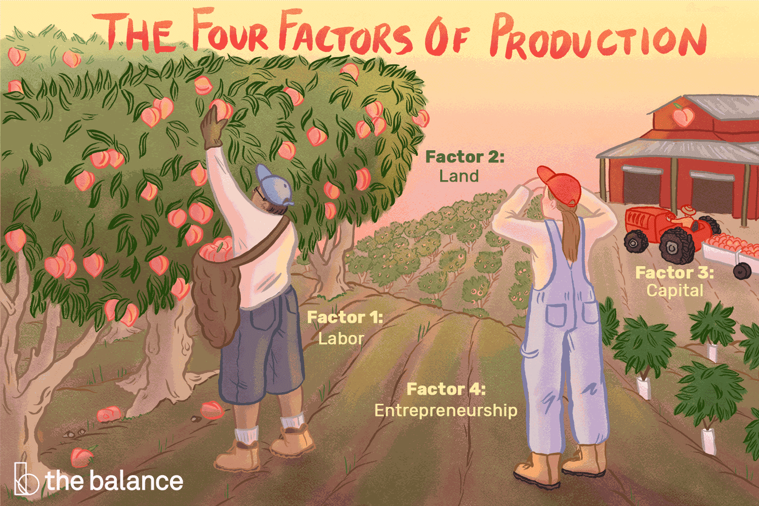 Factors Of Production Definition 4 Types Who Owns