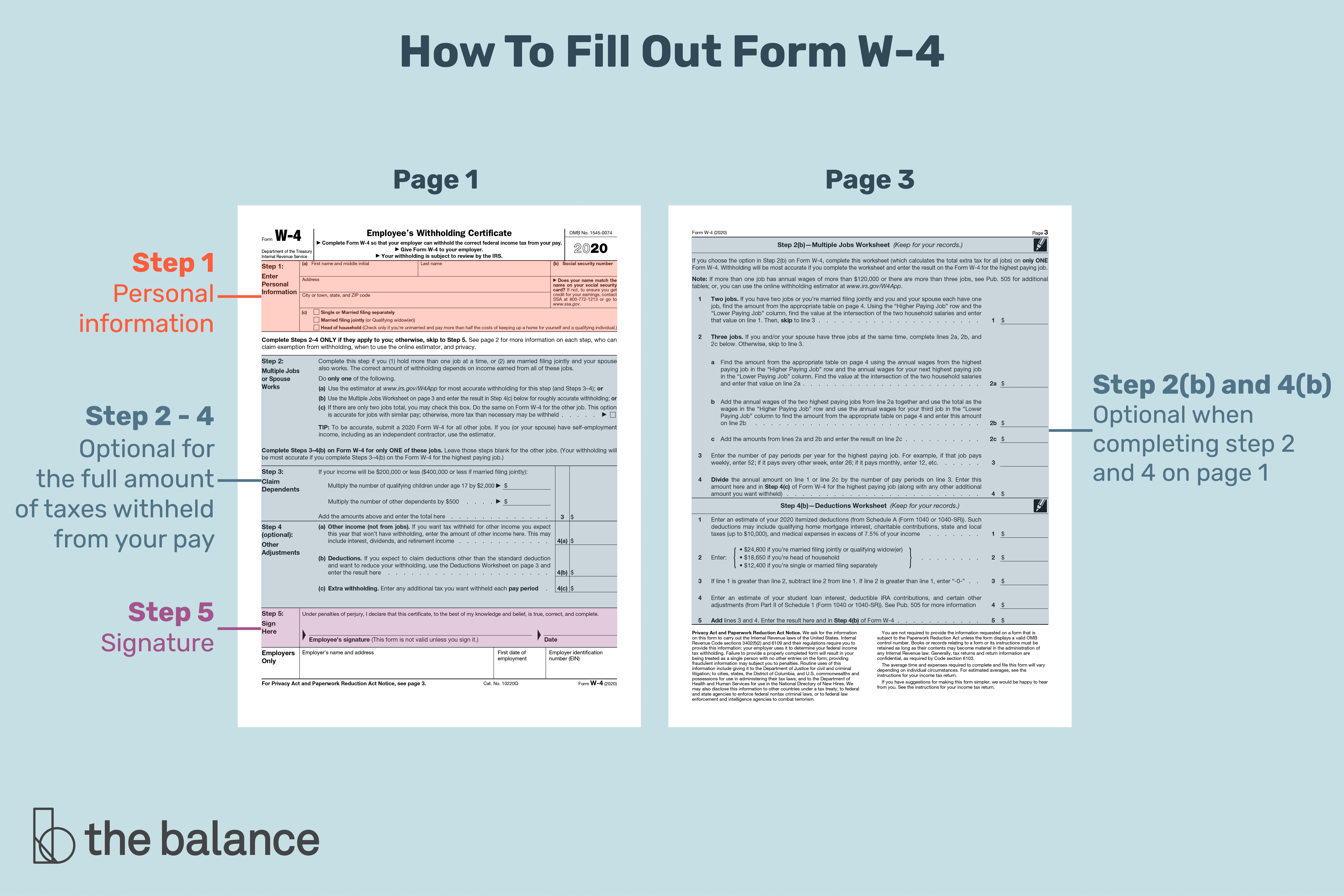 Form W 4 What Is It