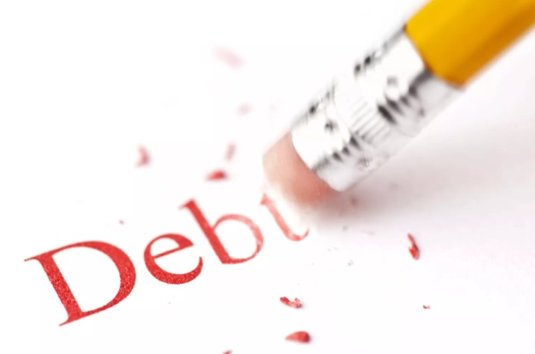 Pay off your debt to get control of your future.