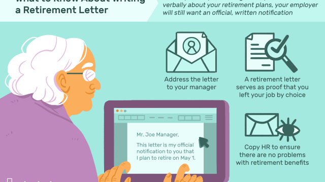 Retirement Letter Sample to Notify Your Employer