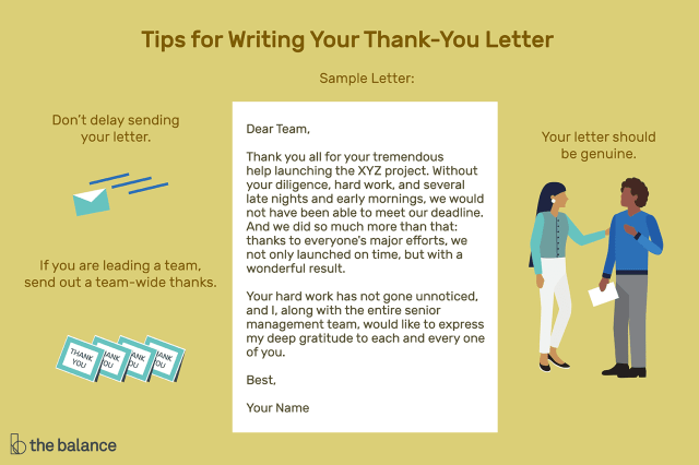 Letter of Appreciation for Help at Work Examples