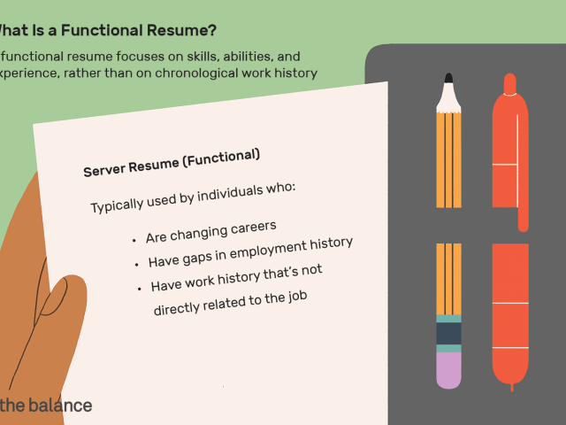 Functional Resumes: What Are They?