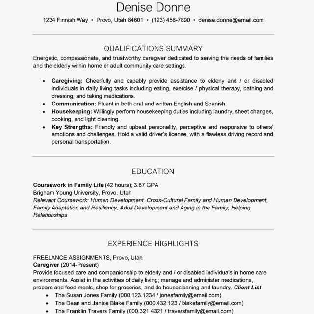 Options for Listing Education on a Resume