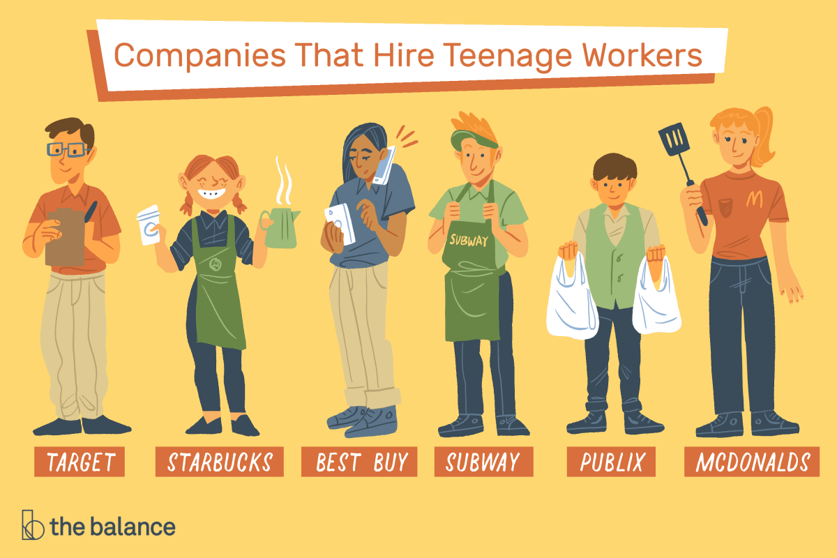 Companies That Hire High School Students