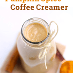 Healthy Pumpkin Spice Coffee Creamer