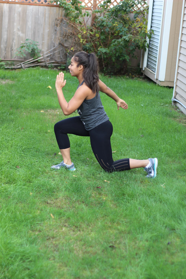 How to do lunges without hurting your knees: 3 EASY tips for safely performing lunges with proper form