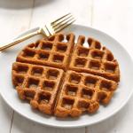 Pumpkin Cornbread Waffles