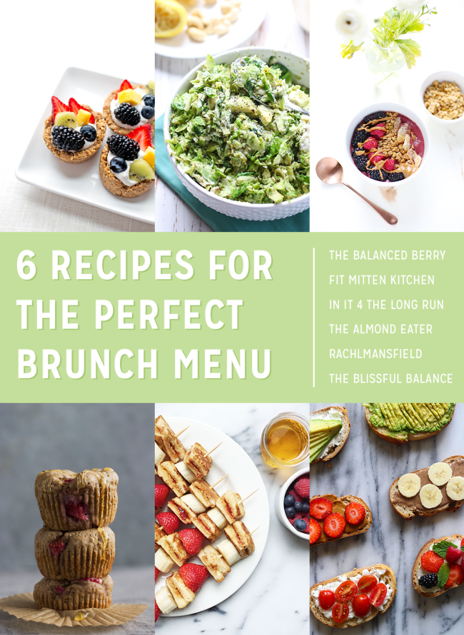 These six healthy, amazing brunch recipes have something for everyone!