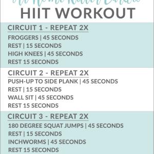 Killer At-Home Cardio Workout