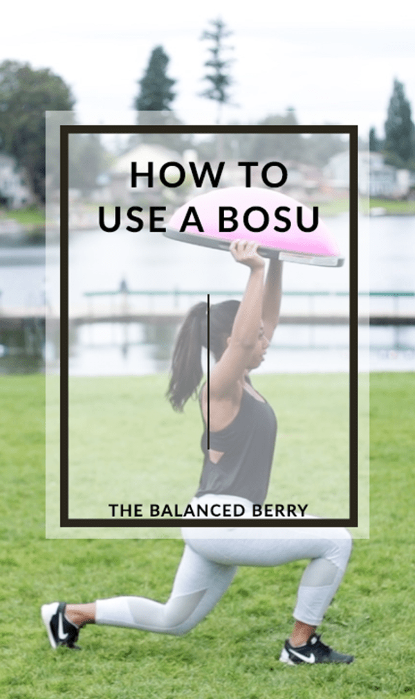 Unsure how to use a BOSU? Here are six effective exercises to get you started!