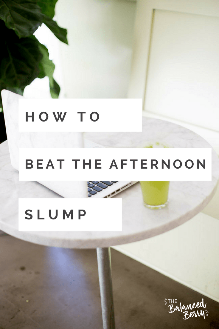 Feel groggy after lunch? Here are 5 ways to beat the afternoon slump, without drinking more coffee.
