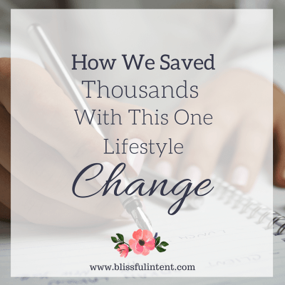 How My Husband & I Saved 5 Thousand Dollars In 4 Months