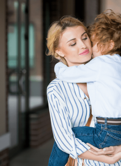 how to be a patient mom
