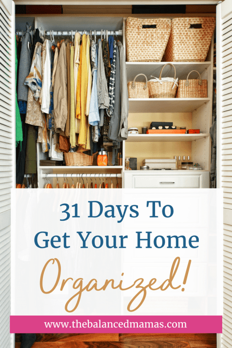 31 days to get your home organized-min