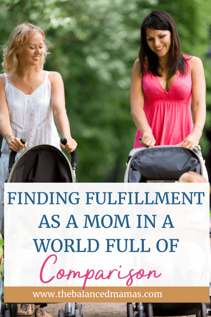 Are you struggling with mom comparison? You don't have to be! Ditch the mom guilt and the comparison today and learn how to be a happy mom right now!