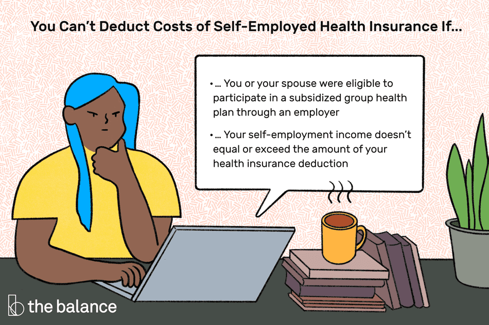 Claiming The Self Employment Health Insurance Tax Deduction