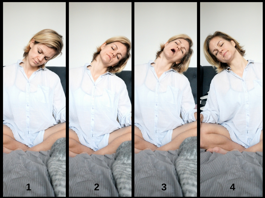 7 exercises for better sleep. 7 exercises for better sleep. 7 exercises for better sleep. headrolls