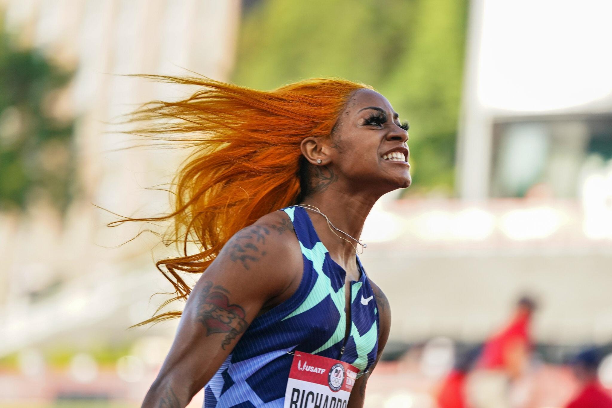 Sprinter Sha'Carri Richardson left off US Olympic