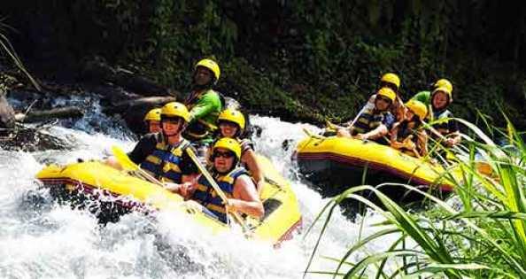 Bali White Water Rafting Adventure Tour Bali Rafting Package
