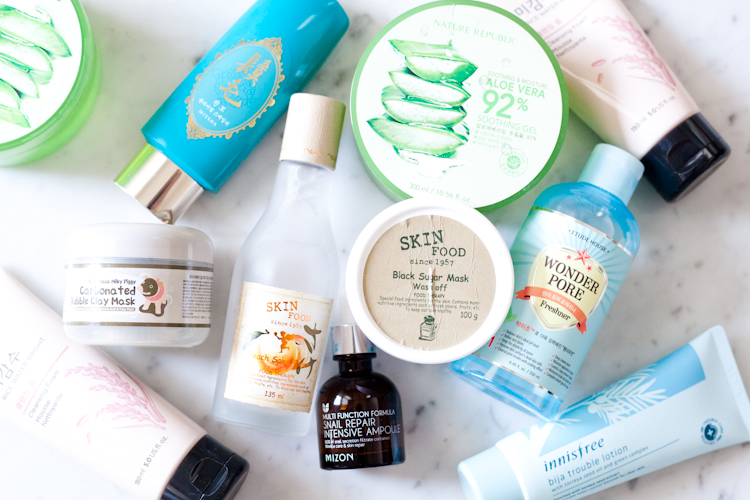 Korean Skin Care Products