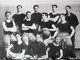 Kansas University Basketball Team 1899