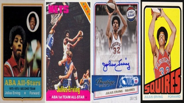 Dr. J - player cards
