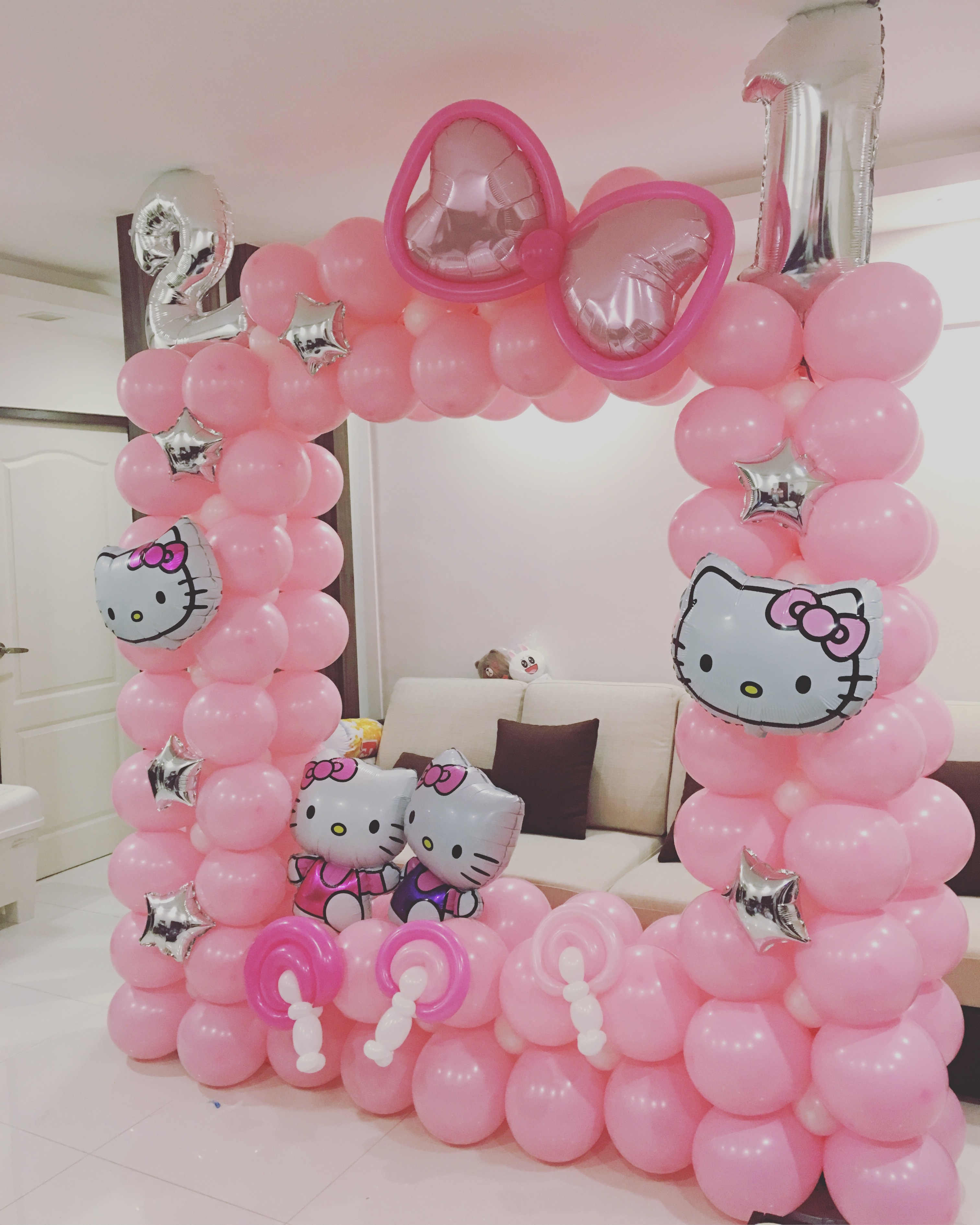 21st Birthday Balloon Decorations